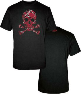 EDDIE VAN HALEN Stripes Skull Official T SHIRT S M L XL XXL EVH T