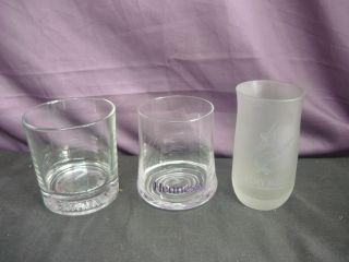 BUCHANANS DE LUX HENNESSY REMY MARTIN FRANCE GLASSES COGNAC SCOTCH
