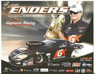 2012 ERICA ENDERS 1ST FEMALE PRO STOCK NATIONAL EVENT WINNER