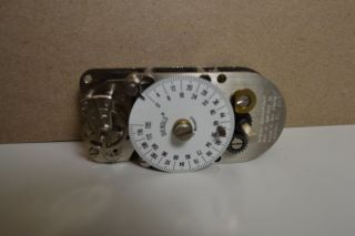029845 0 00A TIME LOCK BANK VAULT 120HR SAFE TIMER MOVEMENT CLOCK #57