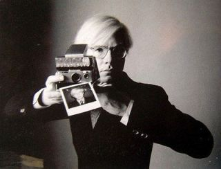 POLAROID SX 70 LAND CAMERA ~ THE CAMERA ANDY WARHOL MADE FAMOUS