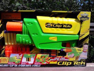 Buzz Bee Toys Air Warriors CLIP TEK Clip Fed Dart Blasting Nerf 41700