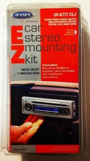 NEW JENSEN CAR STEREO MOUNTING KIT ~UI K777 CLJ ~Works with most