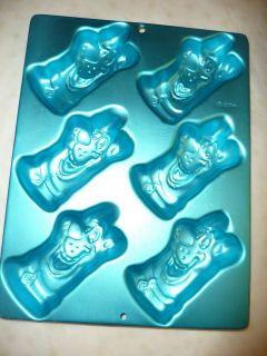 Scooby Doo mini Birthday Cake Treat Pops Pan 6 cavity 2105 3229 blue