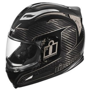 Icon Airframe Carbon Lifeform Motorcycle Helmet Carbon fiber All sizes