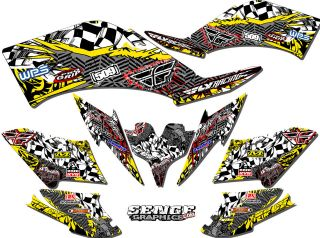 CAN AM CAN AM DS650 DS 650 GRAPHICS KIT ATV STICKERS DECALS DECO 4