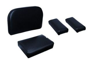 New Case Crawler Dozer 4pc Seat Cushion Set 310 C 310D 310F Black