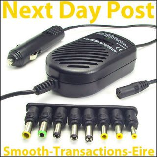 Universal Laptop Netbook Car Charger Sony Dell Acer IBM HP Compact