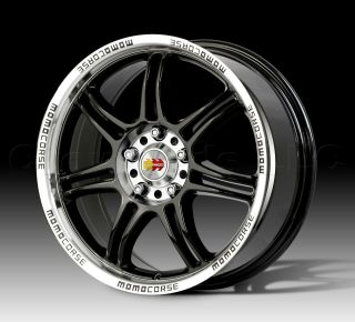 MOMO Car Wheel Rim RPM Black 18 inch 5 on 114.3   Part # RP80851440B