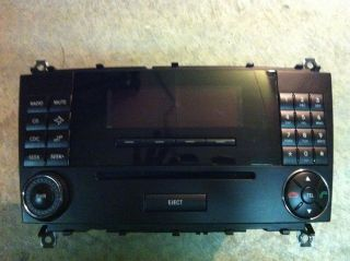 Mercedes Benz C230 C240 C280 C320 C55 Stereo CD Player Command Unit