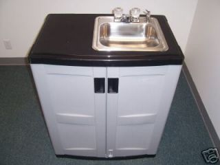 PORTABLE 12 VOLT INDOOR/OUTDOOR SINK COLD WATER