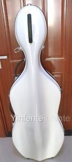 Cello case Glass Fiber Hard Case Durable Strong Light With Wheels