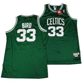 BOSTON CELTICS Sz XXL Green Larry Bird Soul SWINGMAN Jersey