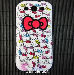 galaxy s 3 cover case hello kitty in Cell Phone Accessories