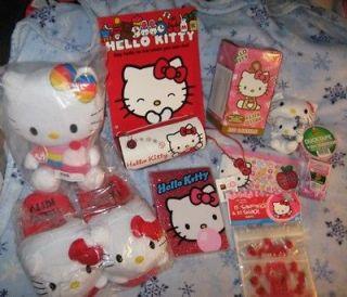 Hello Kitty Lot Plush, Slippers, Lantern, Journal, etc.