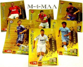 PANINI ADRENALYN XL 11/12 UEFA Champions League MASTER 2011 2012