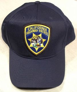California Highway Patrol CHP CA police patch hat/cap
