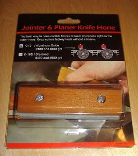 Jointer / Planer Blade Sharpener / Knife Hone & Holder Reversible