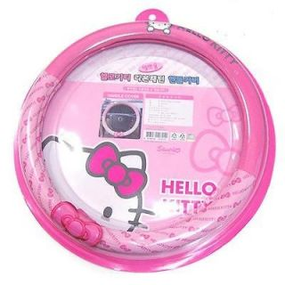 Hello kitty Steering Wheel Cover sanrio cute pink Hello kitty  Ribbon