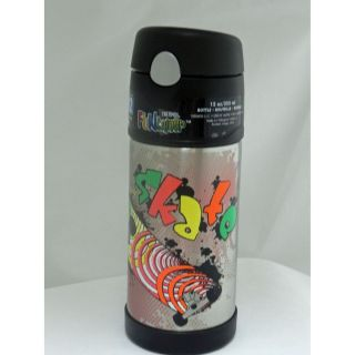 NWT Thermos Funtainer Drink Bottle, Skate 12 ounce