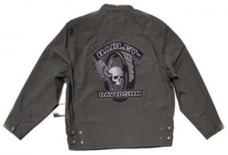 harley davidson nylon jacket in Clothing,