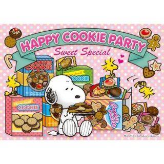 Apollo sha Jigsaw Puzzle 1 96 Peanuts Snoopy Happy Cookie Party (108