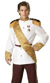 New Mens Halloween Deluxe Royal Prince Charming Costume