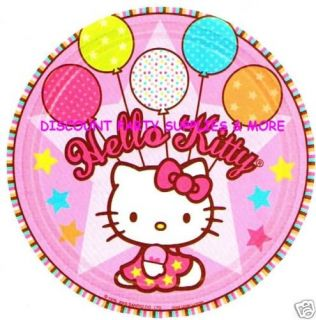 Hello Kitty Balloon Dreams Dessert Plates Party