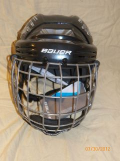 New Bauer 2100 Senior Ice hockey helmets with cages