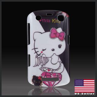 Hello Kitty White Angel Devil hard case cover Blackberry Curve 9350