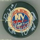 Maurice Richard Signed Hockey Puck