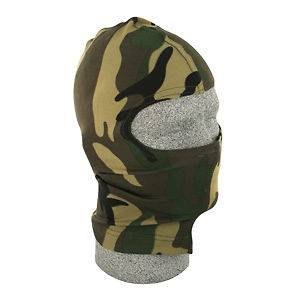 Jungle Camo Nylon Balaclava Ninja Swat Face Mask Liner