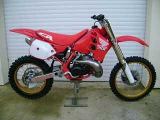 HONDA CR 250 RK 1989 EVO RAD STICKERS GRAPHICS DECALS