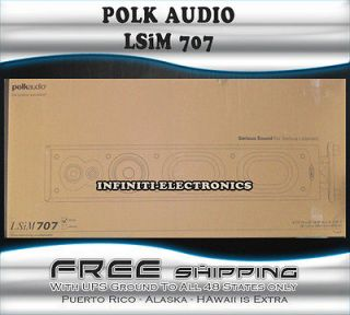 New Polk Audio LSi M707 Floorstandin​g Home Audio Speaker LSiM707