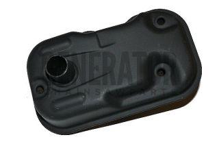 GXH50 Water Pump industrial Equipment Motor Cover Muffler Exhaust Pipe