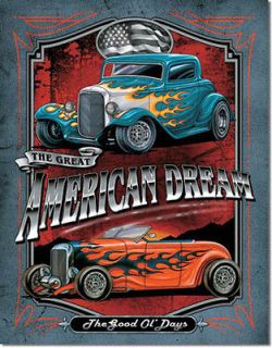 HOT The Great American Dream Hot Rod Rat Rod USA