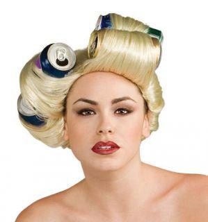 Lady Gaga Telephone Video Halloween Costume Soda Can Wig Adult