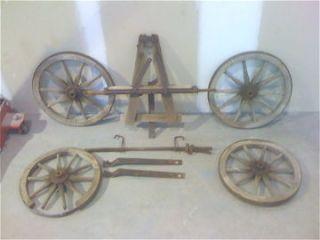 Antique Wooden Wagon Wheels,Farm,Carts,Home & Garden,Americana,Western