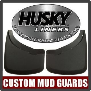 57181 Husky Liners Rear Mud Flap Guards Dodge Ram Dually 2010 2012