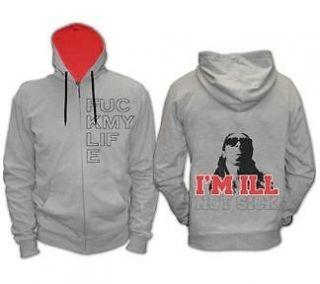 New Licensed Lil Wayne F ck My Life Im Ill Not Sick Adult Zipper