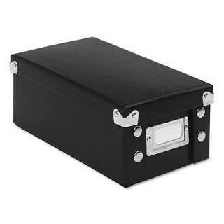 Snap 'N Store Collapsible Index Card File Box 1,100 3 x 5 Cards