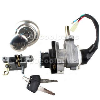 Gas Scooter Ignition Switch Key Set for Moped 50cc 150cc GY6 Parts