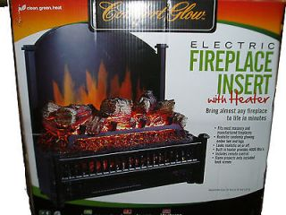 electric fireplace heater insert in Fireplaces