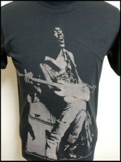 New vintage 70s Jimmy Hendrix rock indie t shirt XS