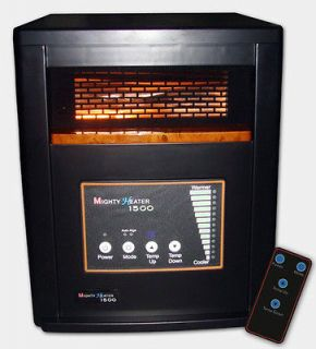 NEW INFRARED HEATER, PORTABLE SPACE HEATER W/PTC 1500 WATTS