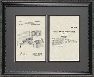 Patent Art   Punch Card Tabulator   Computer Programmer Print Gift