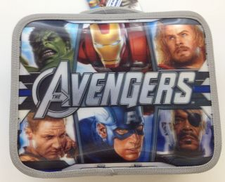 IRONMAN HULK THOR CAPTAIN Insulated Lunch Box Bag Container sandwich