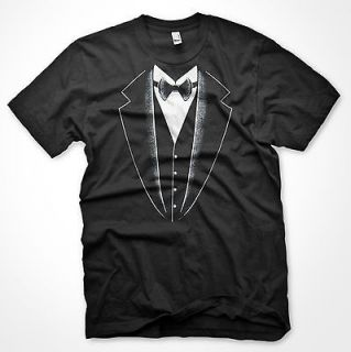 FUNNY NOVELTY TUXEDO PARTY WEDDING PROM COTTON T SHIRT XL