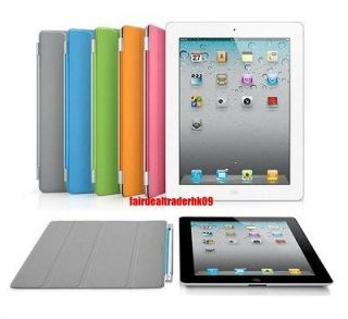 1x IPAD 2 3 New Slim Smart Cover Stand Full Body Case Magnetic 5