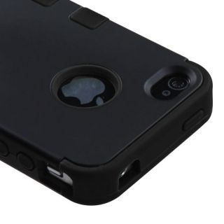 iphone 4 silicone case black in Cases, Covers & Skins